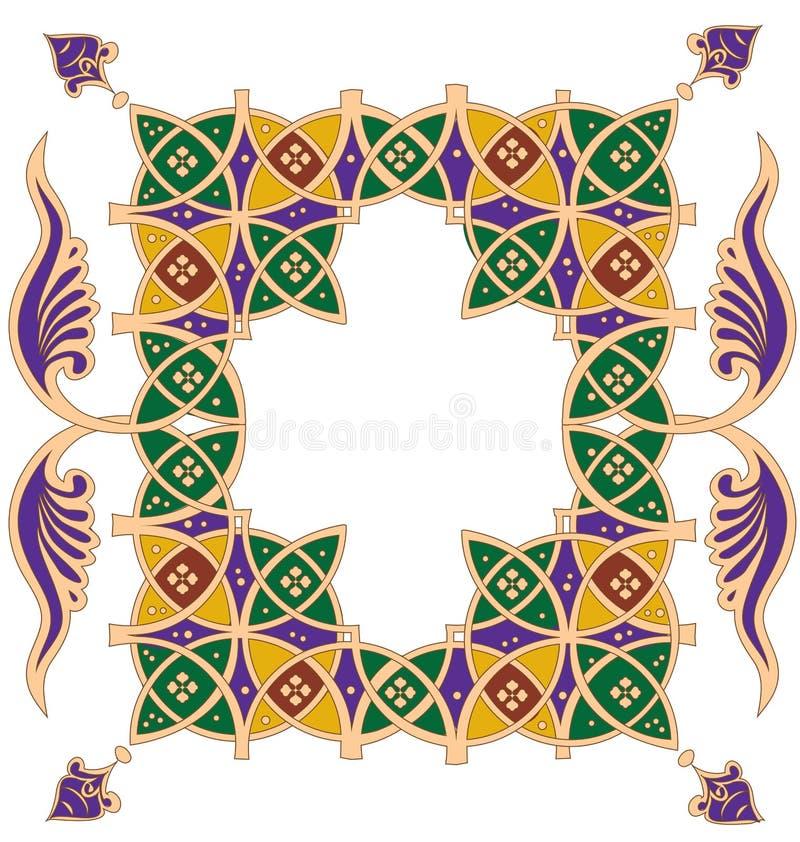 Dekorativa Ornamend royaltyfri illustrationer