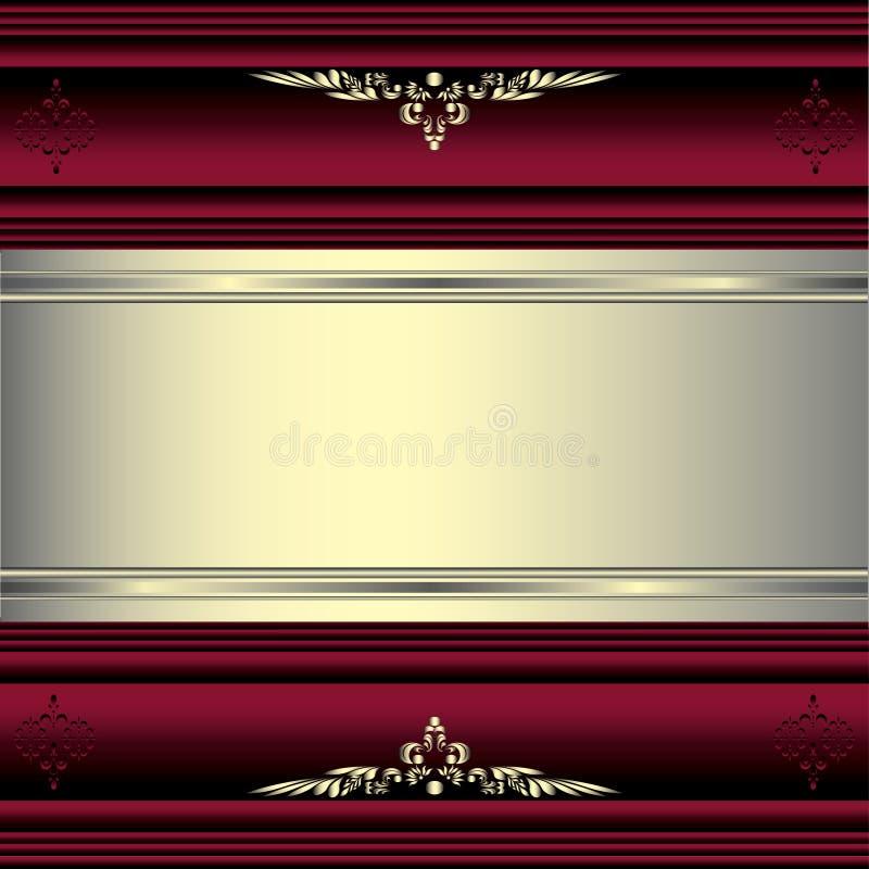 Dekorativa prydnader eps10 för vektorfärg royaltyfri foto
