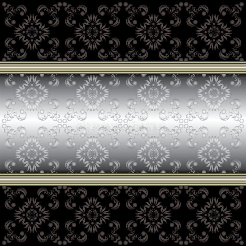 Dekorativa prydnader eps10 för vektorfärg arkivbild