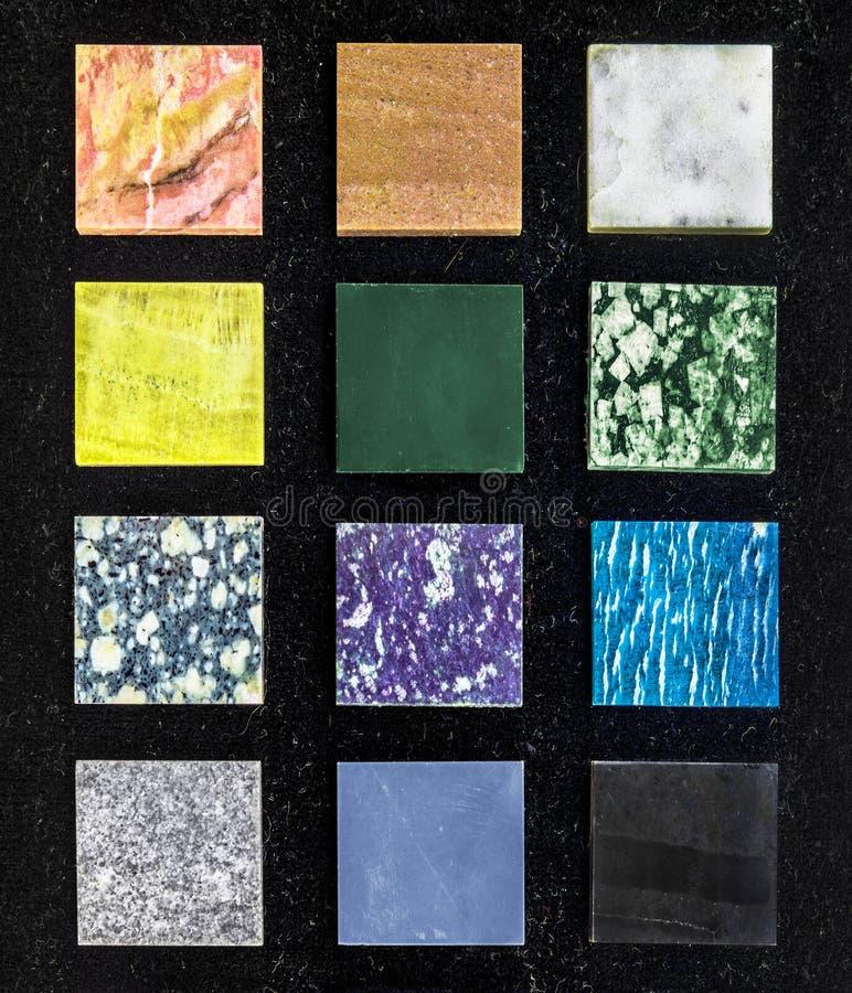dekorativa stenar arkivbild