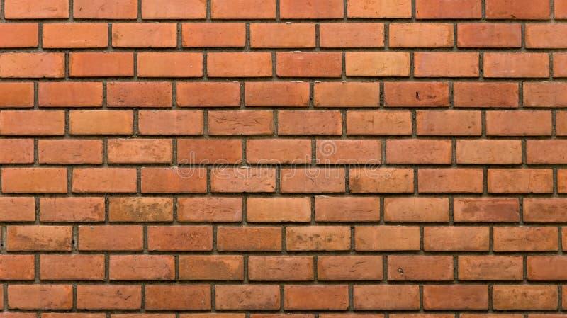 Dekorative Backsteinmauer, nicht gemalt Backsteinmauermusterentwurf lizenzfreies stockfoto