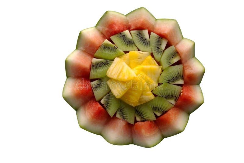 Dekorative Darstellung der frischen Frucht stockbilder