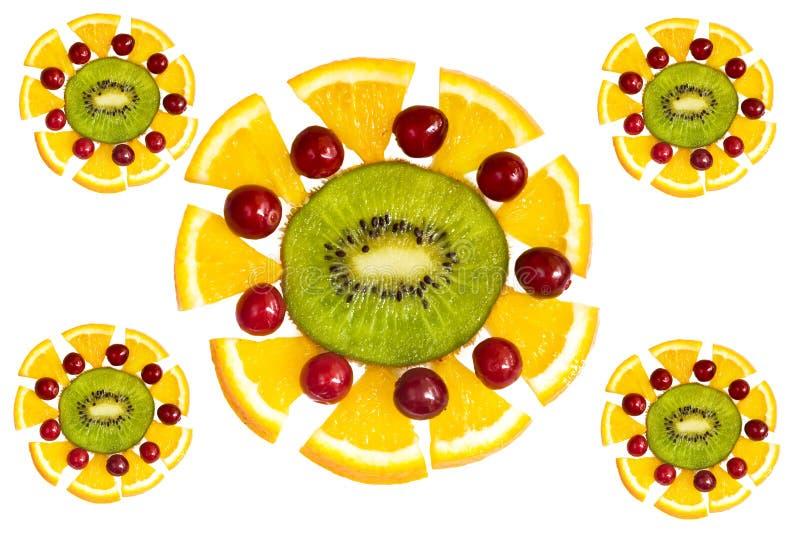 Dekorative Fruchtelemente lizenzfreies stockfoto