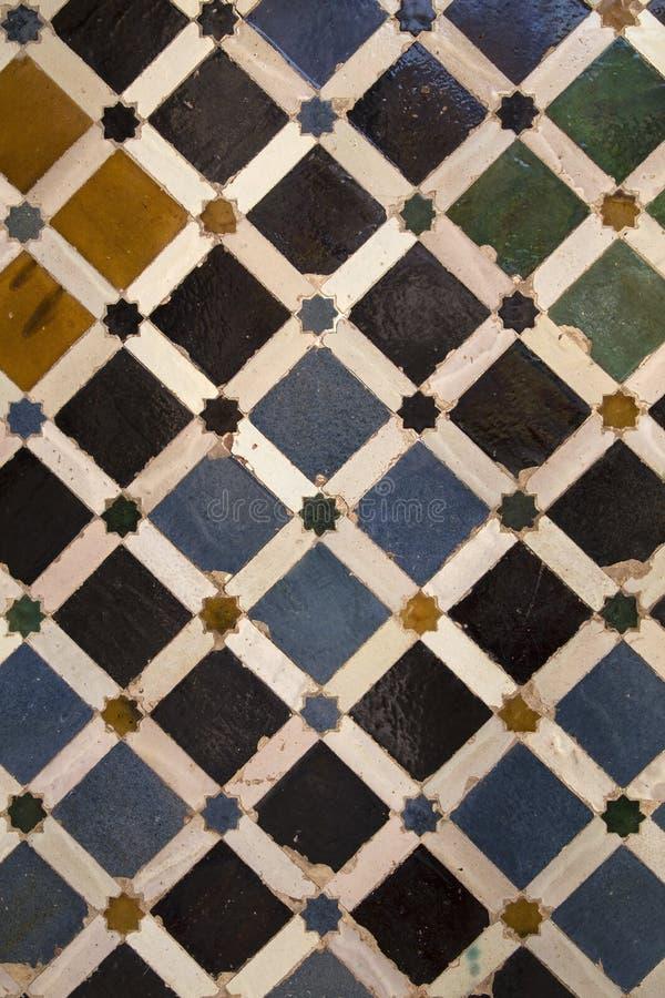 Dekorative Keramikziegel lizenzfreies stockfoto