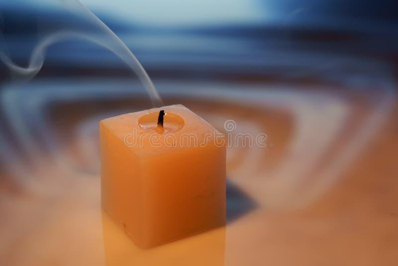 Dekorative Kerze. lizenzfreie stockfotos