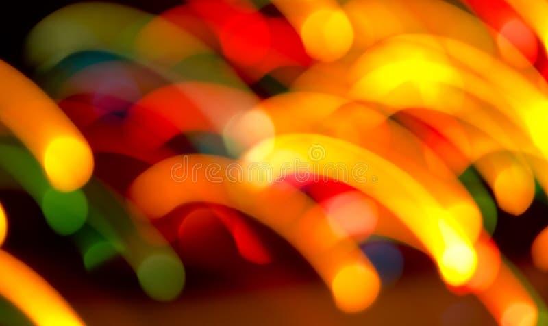 Dekorative Neonlichter stockfotografie