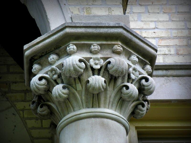 Dekorative Säule stockbilder