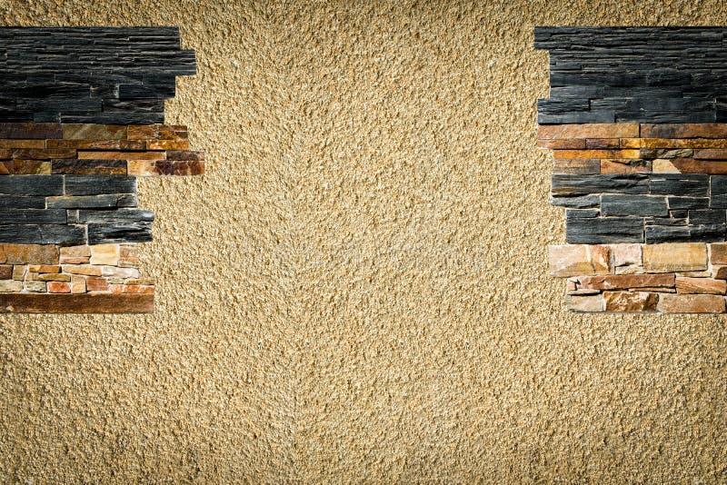 Dekorative Steine im Innenraum stockfotografie