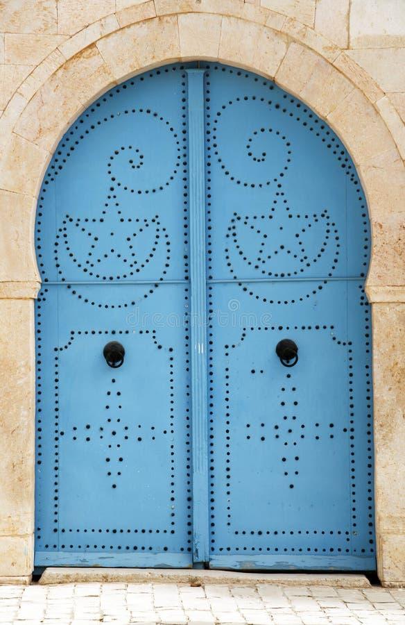 Dekorative Tür stockfotos