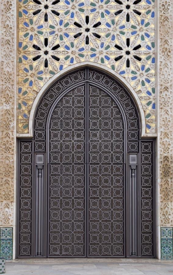Dekorative Tür stockbild