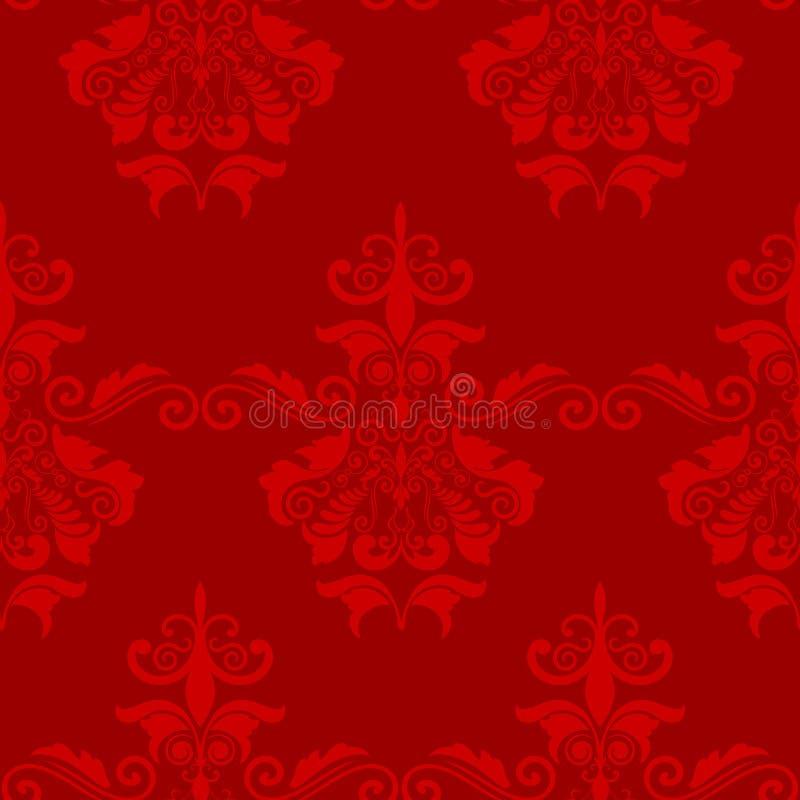 Dekorative Tapete der nahtlosen Fliese vektor abbildung