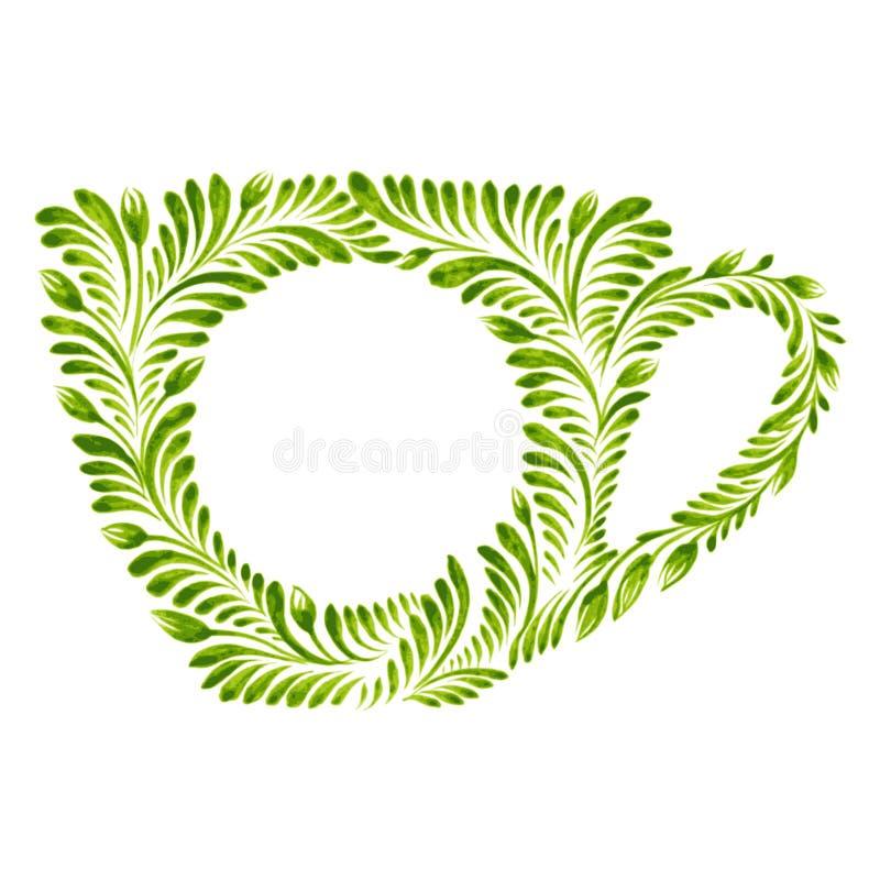 Dekorative Verzierungsschale vektor abbildung