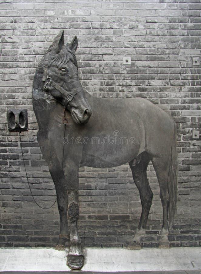 Dekorative Zusammensetzung auf Jinli-Straße in Chengdu, China lizenzfreie stockbilder