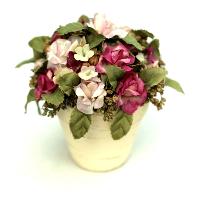 Dekorativer Blumenstrauß stockfotos