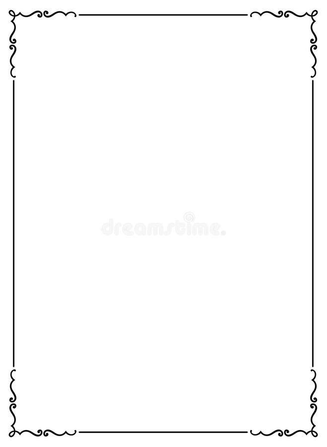 Dekorativer Feld JPG + ENV lizenzfreie abbildung