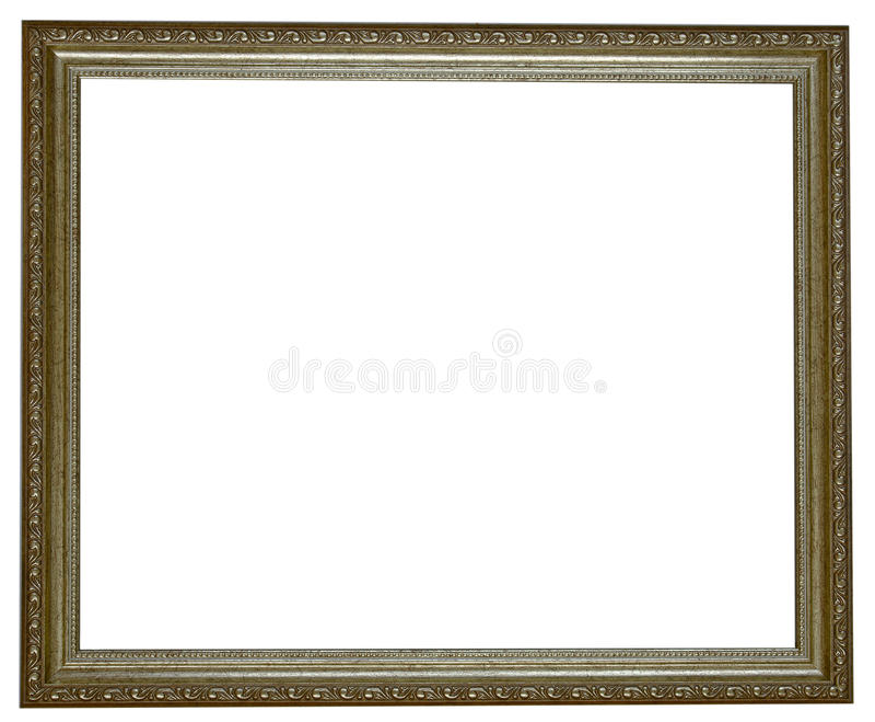 Dekorativer Foto-Rahmen lizenzfreie stockbilder