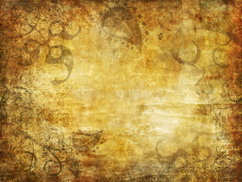 Dekorativer grunge Hintergrund vektor abbildung