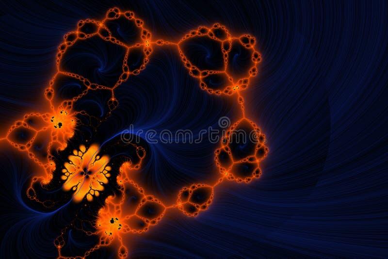 Download Dekorativer Hintergrund stock abbildung. Illustration von gefärbt - 25557