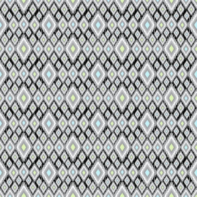 Dekorativer nahtloser Musterhintergrund mit hellen Elementen stock abbildung