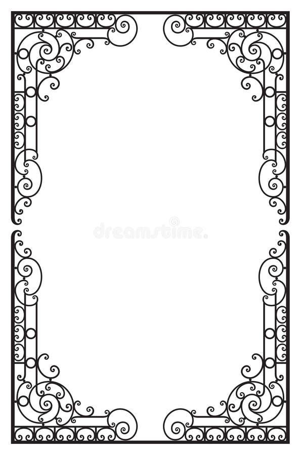Dekorativer Preisrahmen Vektorbild, Abbildung vektor abbildung