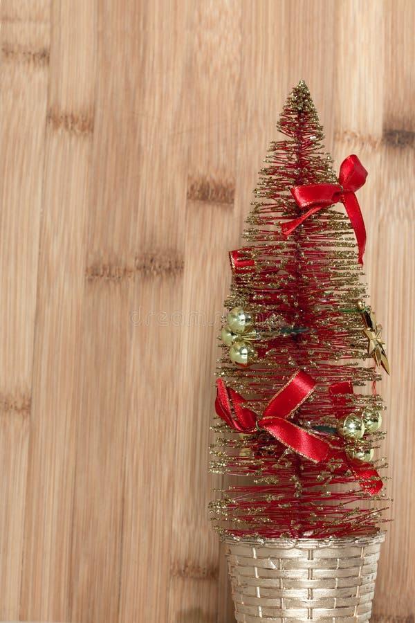 Dekorativer Weihnachtsbaum für Dekoration lizenzfreie stockfotografie