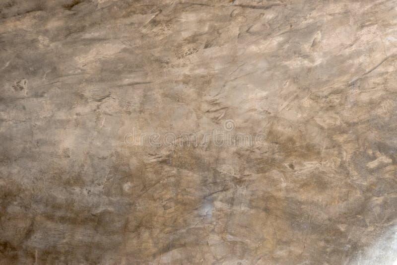 Dekorativer Zementputzeffekt von der Wand stockfotos