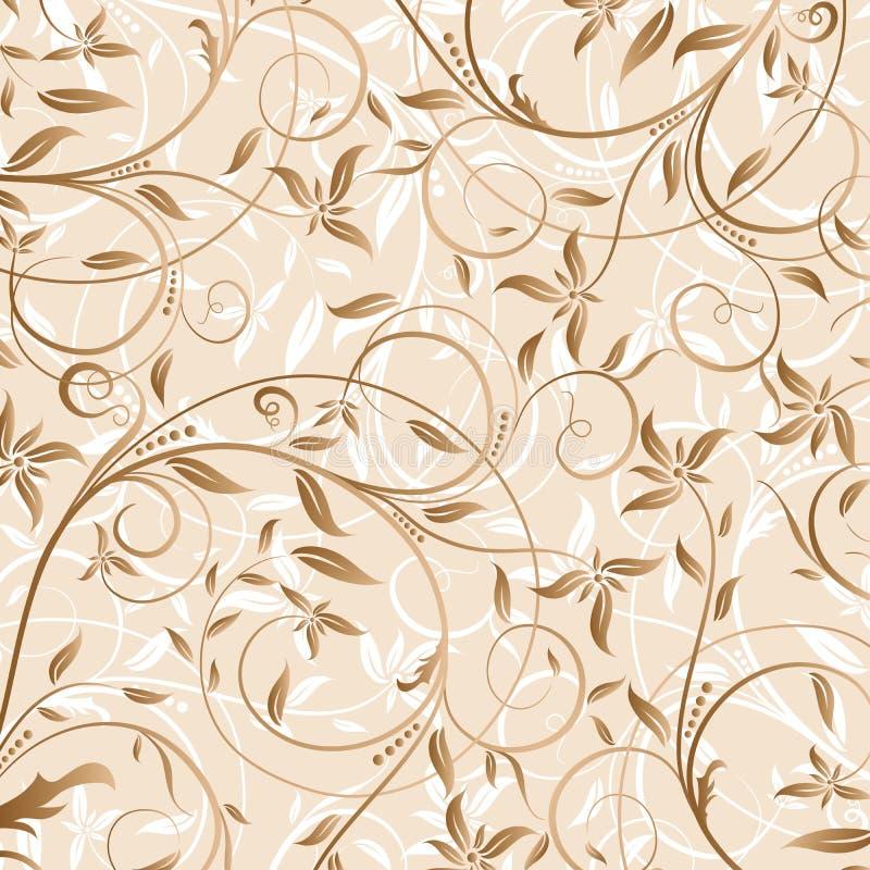 Dekoratives Blumenmuster,   vektor abbildung