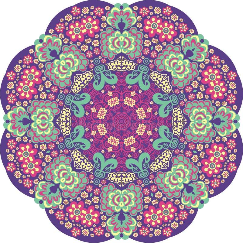 Blumenkreis vektor abbildung