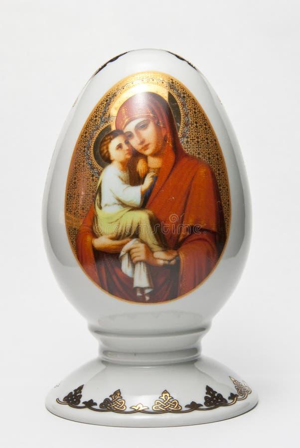 Dekoratives Ei der Andenkens stockbilder
