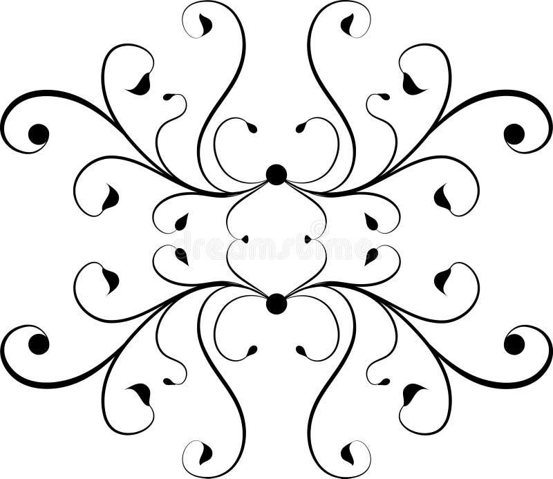 Dekoratives Element vektor abbildung