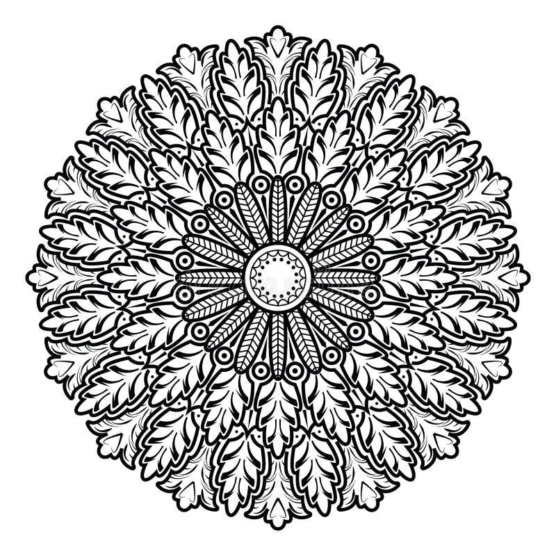 Dekoratives Element für Design Dekorative Elemente der Weinlese lizenzfreie abbildung