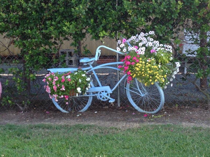 Dekoratives Fahrrad stockbild