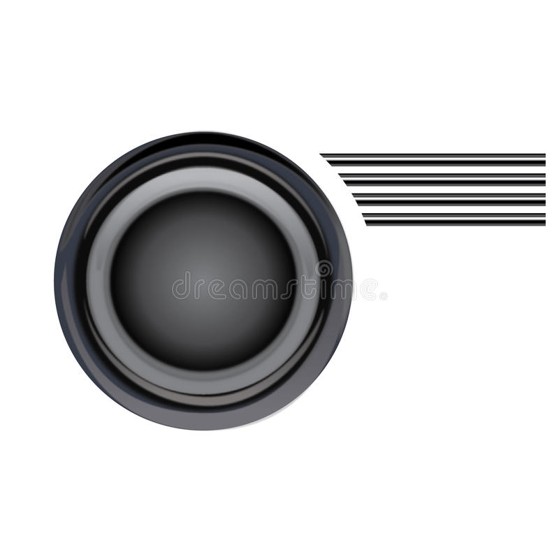 Dekoratives Gestaltungselemente Vektormetall vektor abbildung
