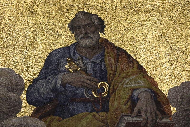 Dekoratives Mosaik stockbilder