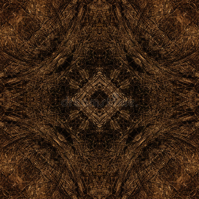 Dekoratives Muster, verschachtelte Linien, die Kombination von Fragmenten von Bildern lizenzfreie stockfotografie