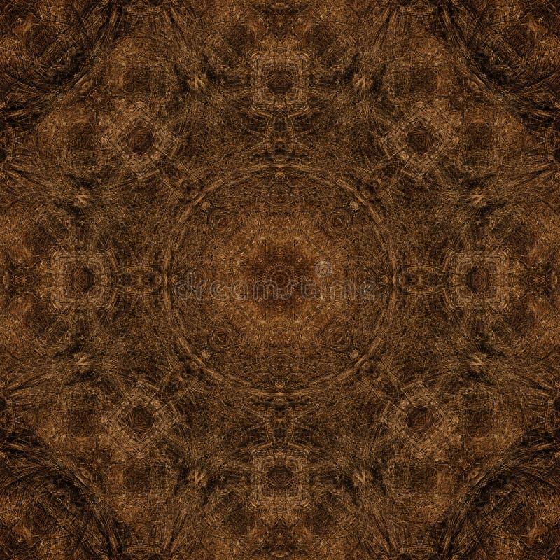 Dekoratives Muster, verschachtelte Linien, die Kombination von Fragmenten von Bildern lizenzfreies stockbild