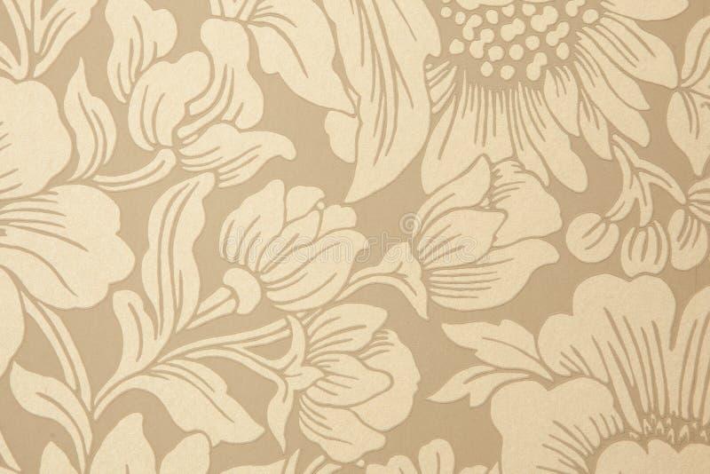 Dekoratives Muster von Blumen lizenzfreie abbildung