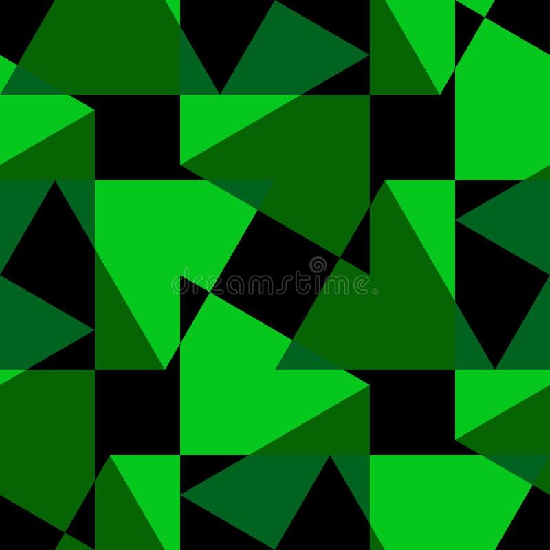 Dekoratives nahtloses geometrisches Muster Abstrakter Hintergrund kann für Tapete, Website, Gewebe, Drucke, das Gewebe benutzt we lizenzfreie abbildung