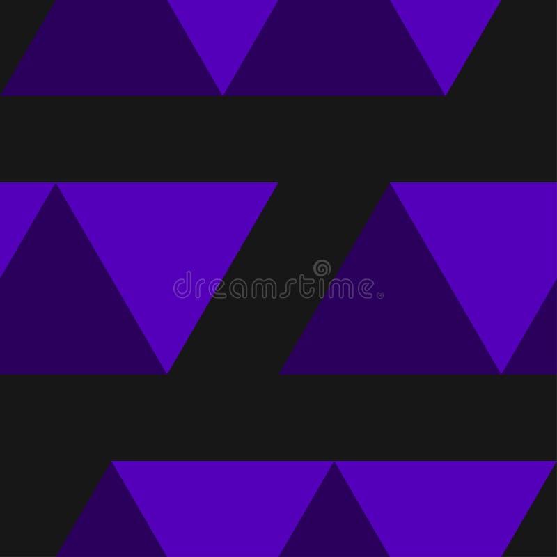 Dekoratives nahtloses geometrisches Muster Abstrakter Hintergrund kann für Tapete, Website, Gewebe, Drucke, das Gewebe benutzt we stock abbildung
