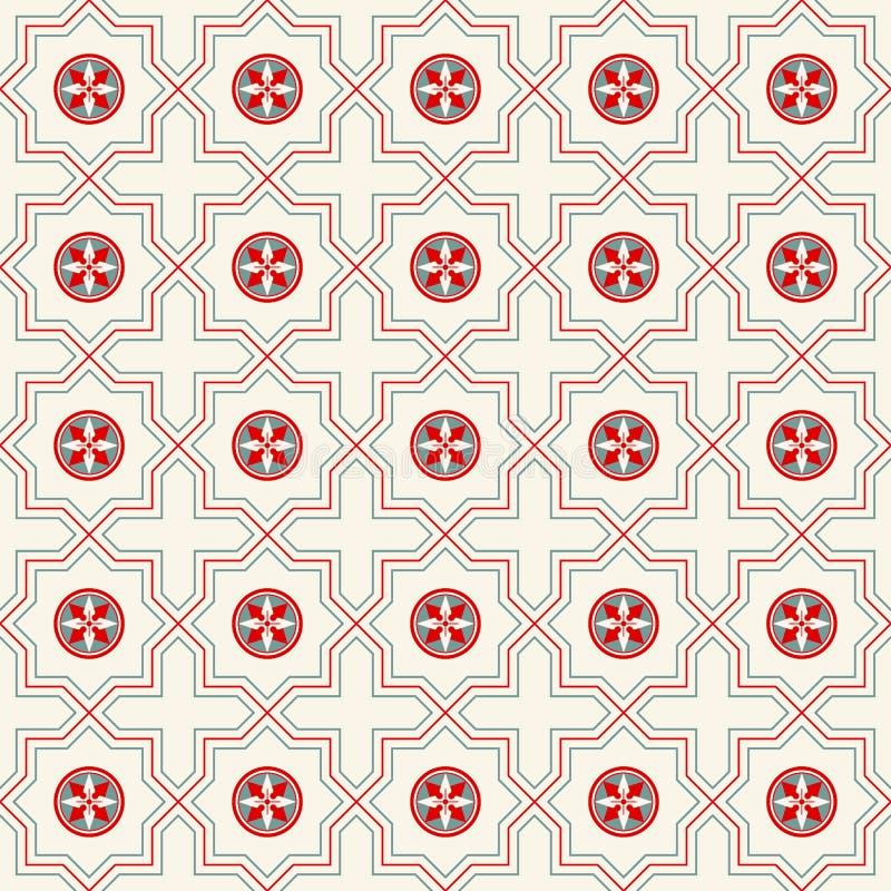 Dekoratives nahtloses Muster stock abbildung