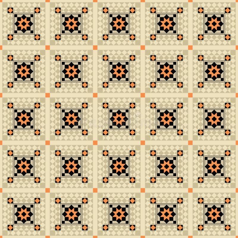 Dekoratives nahtloses Muster vektor abbildung