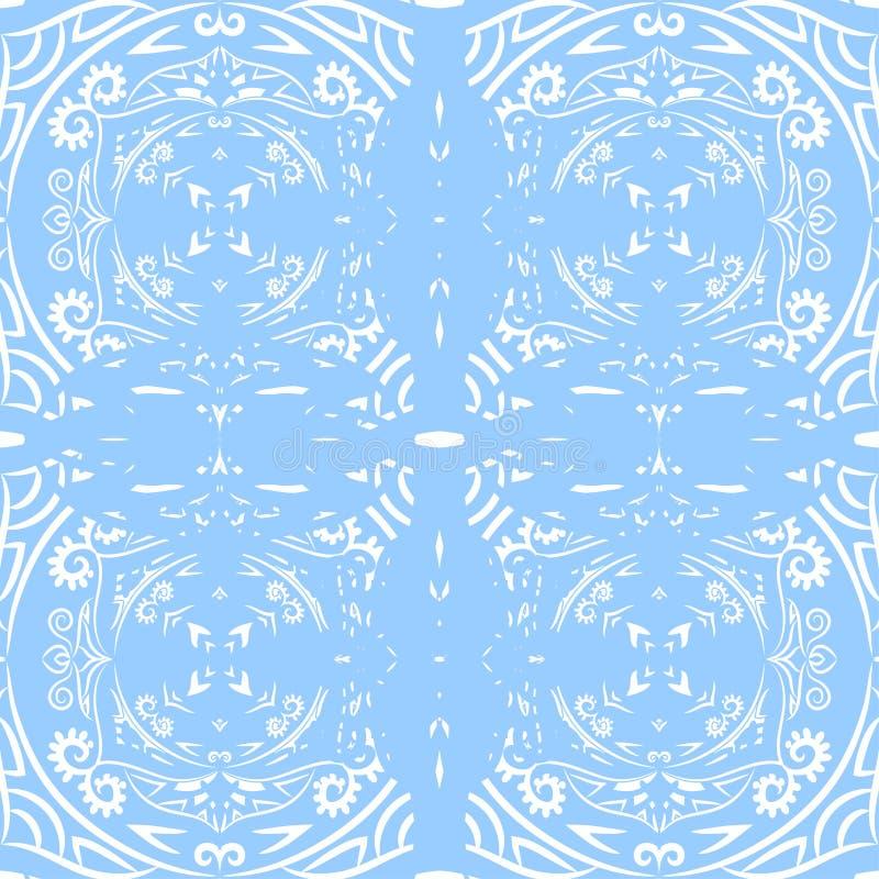 Dekoratives nahtloses Muster Abstrakter Hintergrund kann für Tapete, Website, Gewebe, Drucke, Gewebe, Packpapier benutzt werden stock abbildung