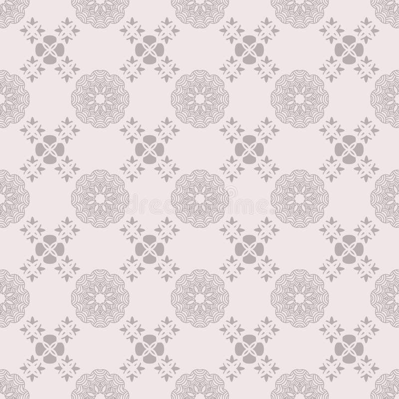 Dekoratives nahtloses Muster mit chinesischen Elementen Asiatischer geometrischer Hintergrund Chinesische Elemente Stilvolles mod stock abbildung