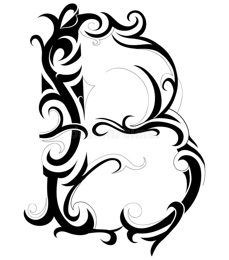Dekoratives Zeichen vektor abbildung