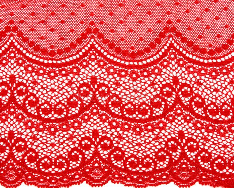 dekorativt snöra åt red arkivbilder
