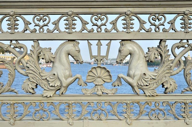 Dekorativt staket royaltyfri bild