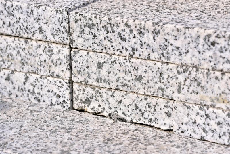 Dekorativt stena byggnadsbräden fotografering för bildbyråer