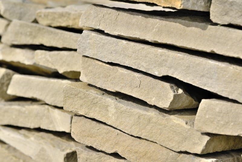 Dekorativt stena byggnadsbräden arkivbilder