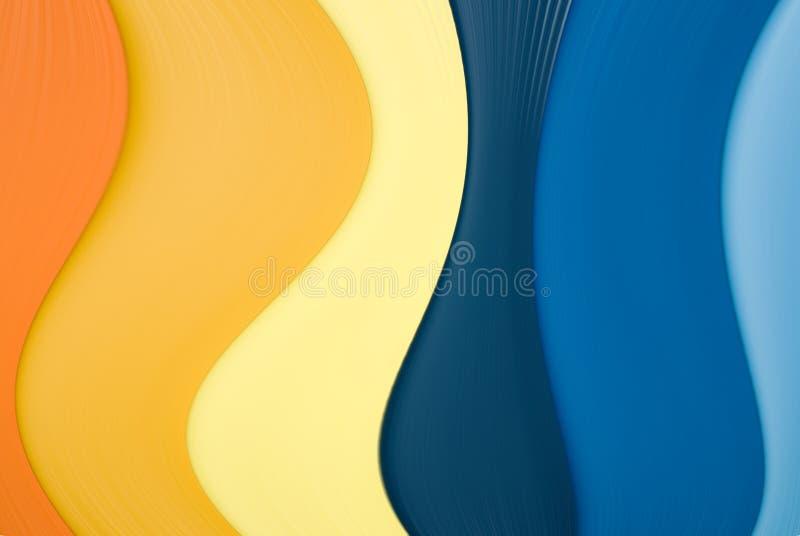 dekorativt wavy för bakgrund vektor illustrationer