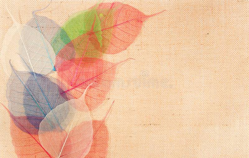dekoren låter vara multicolor sackcloth royaltyfri bild